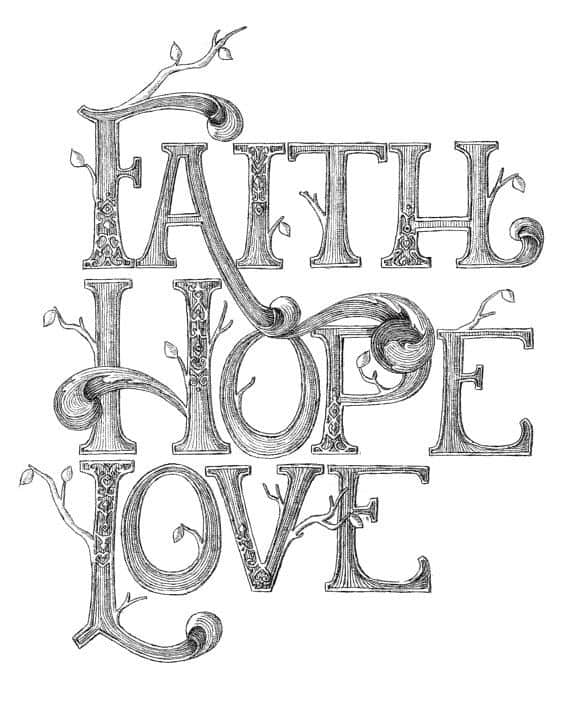 If the opposite of fear is both faith and love, this points to a connection between the power of faith and love. I much prefer the peace I feel from God's love than the fear I feel from men. I feel like I am sinking into a mire of unhappiness and hopelessness when I allow the fears of men to immerse me.