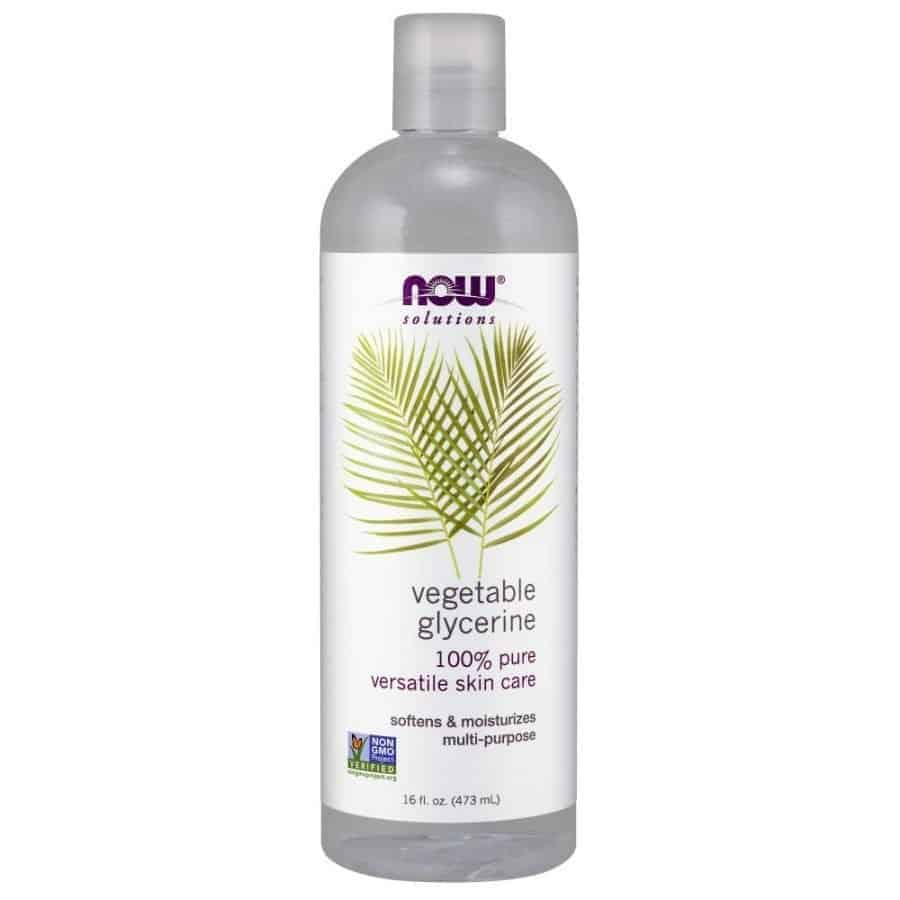 Hands down, this is the best natural face moisturizer for dry skin!  I am amazed at what it has done for my skin in a short amount of time.  You can adjust the purified water to vegetable glycerin ratio to fit your skin needs.