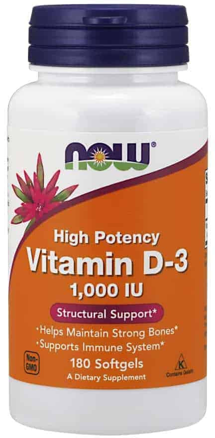 COVID19 - I actually take 10,000 IU/day because my vitamin D levels are low, and at age 60, absorption often slows down.